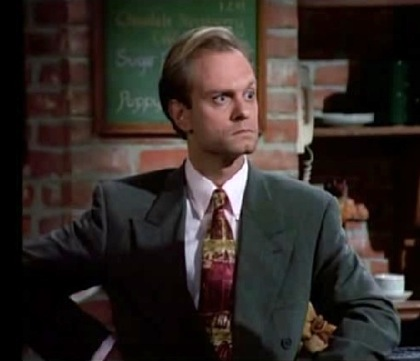 Wassup!: Niles Crane has the last laugh